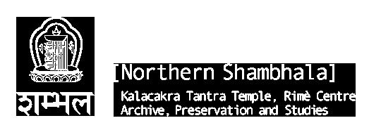 Northern Shambhala - Kalacakra Tantra Temple Archive, Preservation and Studies